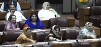 It's, not, just, Khursheed Shah, these, women, in, the, national, assembly, encourage, sexism, too