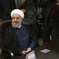 Rouhani, rival, to, run, in, Iran's, presidential, election; Ahmadinejad, barred