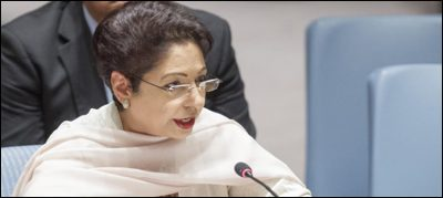 Pakistan, slams, 'nuclear, doublespeak' at, UN