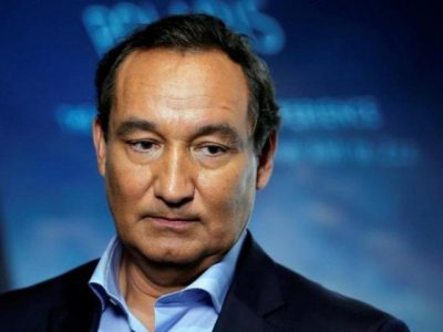 Chief Executive Officer of United Airlines Oscar Munoz in New York, US. PHOTO: REUTERS