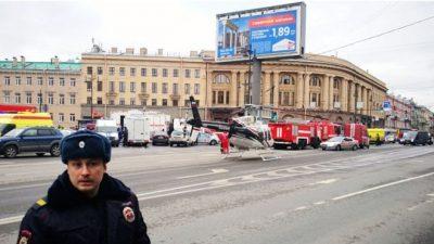 St Petersburg, metro, explosion:, In, pictures