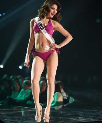 Urvashi Rautela, Miss India 2015 competes on stage in Yamamay swimwear featuring footwear by Chinese Laundry during The 2015 MISS UNIVERSE® Preliminary Show at Planet Hollywood Resort & Casino Wednesday, December 16, 2015. The 2015 Miss Universe contestants are touring, filming, rehearsing and preparing to compete for the DIC Crown in Las Vegas. Tune in to the FOX telecast at 7:00 PM ET live/PT tape-delayed on Sunday, Dec. 20, from Planet Hollywood Resort & Casino in Las Vegas to see who will become Miss Universe 2015. HO/The Miss Universe Organization