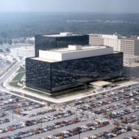An undated aerial handout photo shows the National Security Agency (NSA) headquarters building in Fort Meade, Maryland. PHOTO: REUTERS