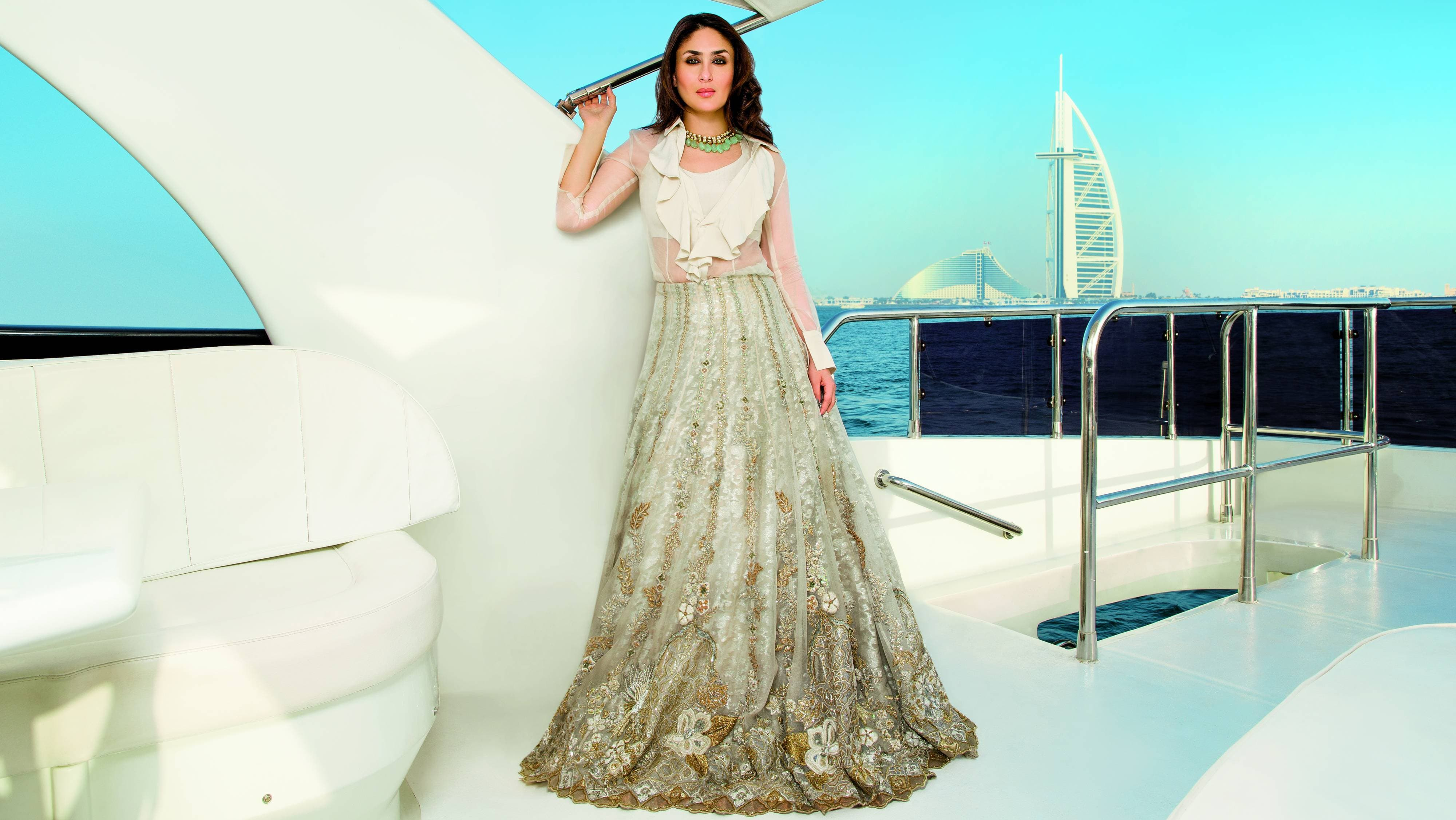 This Pakistani designer dressed Kareena Kapoor for her first post-baby shoot