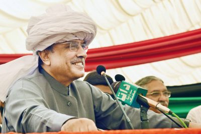 Former President Asif Ali Zardari calls for freedom of expression, RTI Legislation and end to impunity of crimes against media persons