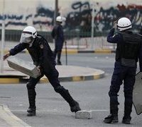 Bahrain ,police, open, fire ,on ,Shia ,sit-in