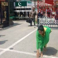Uzma reaches back to India. PHOTO COURTESY: TIME OF INDIA