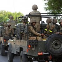 Security forces carried out intelligence based operation in Central Khurram Agency. PHOTO: AFP