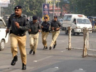 A file photo of Punjab police personnel