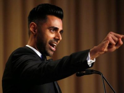 Hasan Minhaj of Comedy Central performs at the White House Correspondents' Association dinner in Washington, US April 29, 2017. PHOTO: REUTERS