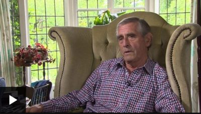 Ron Grimshaw was having an MRI scan when nurses told him they had to stop because of a cyber-attack