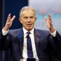 Former PM Tony Blair says he wants to build a political movement to shape the policy debate as Britain starts its negotiations to leave the EU. PHOTO: AFP