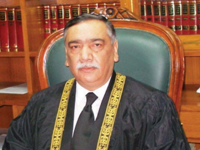 SC judge Justice Asif Saeed Khan Khosa. PHOTO: FILE