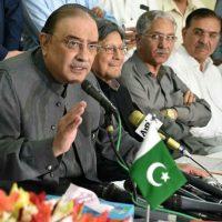 Asif Zardari pays homage to martyrs