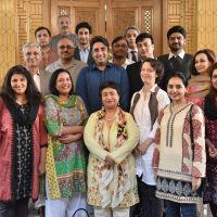 Chairman, Bilawal ,Bhutto, Zardari,meet,with, human,rights ,activists