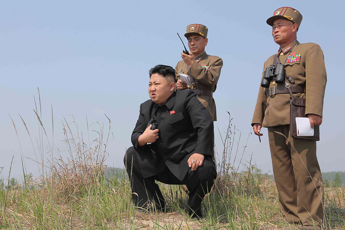 In Kim Jong, Un's, summer, retreat, fun, meets, guns, North Korea's, leader, uses, a, prime, seaside, resort, for, military, tests,