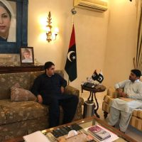 Sher Mohammad Lakho Vice Chairman of District Council, Tando Mohammad Khan called on Chairman #PPP @BBhuttoZardari