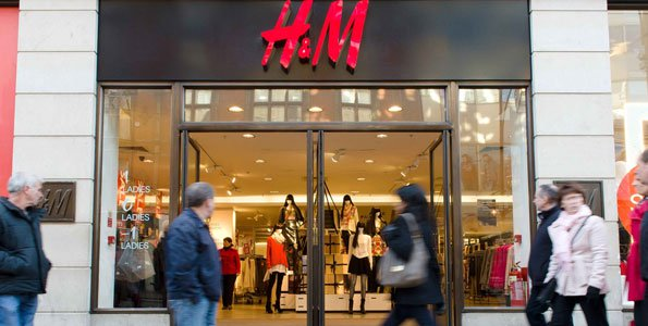 An H&M outlet in London. PHOTO: AFP