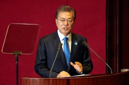 President, Moon, Jae-in, also, announces, biggest, annual, increase, in, South, Korea's, military, budget,