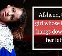 MITHI, EIGHT, YEARS, OLD, AFSHEEN, WAIT, FOR, A, MESSIAH, Afsheen, the, girl, whose, head, hangs, down, to, her, left