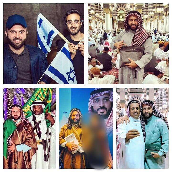 This, Israeli, Zionist, Ben Tzion, got, to, visit, Masjid al-Nabawi, Something, thousands, of , Palestinians, won't, ever, have, the, luxury, of, doing,