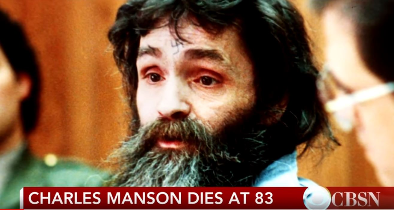 Charles, Manson, died, on, Sunday, at ,age ,83.