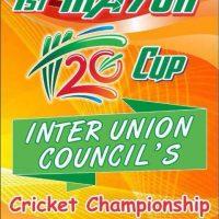 1st, Mayor, Rawalpindi ,Inter, Union, Councils ,T20 ,Cricket ,Championship, sets, off ,tomorrow