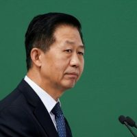 Chinese Finance Minister Xiao Jie,PHOTO:REUTERS