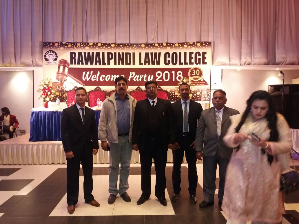 Rawalpindi, Law, College ,arranged, well, come ,ceremony ,for, New,  Students
