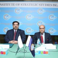 "Public Talkon""Contours of Security Environment of Pakistan"" held at Islamabad"