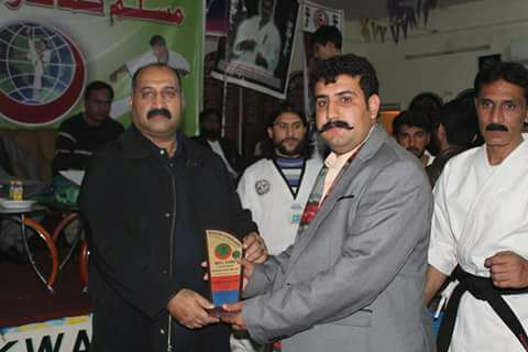 Muslim Commando Karate organized Martial Arts Competition at Chakwal