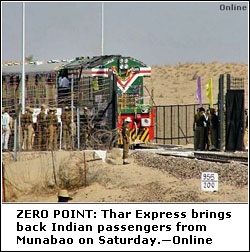 Extension in the Agreement of Rail link between MunaBao (India)- Khokhrapar (Pakistan)