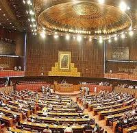 National Assembly Session begins with Acting Speaker Murtaza Javed Abbasi in Chair