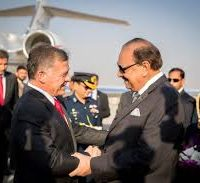 King Abdullah II ibn Al Hussein of the Hashemite Kingdom of Jordan met the President Mr. Mamnoon Hussain and the Prime Minister Mr. Shahid Khaqan Abbasi