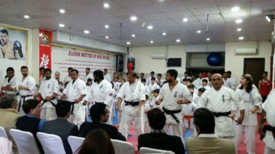 Grand, Master, Shihan Raja, Khalid, is, the, Symbol ,of ,Success ,in ,modern, Martial ,Arts,Says Speakers
