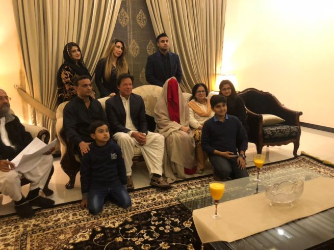 Chairman ,Pakistan, Tehreek, Insaf ,Imran Khan, Got married, for ,the, third, time, with , Bushra Manika
