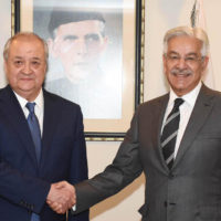 Uzbek Foreign Minister H.E. Mr. Abdulaziz Kamilov, reached Islamabad on official visit to Pakistan