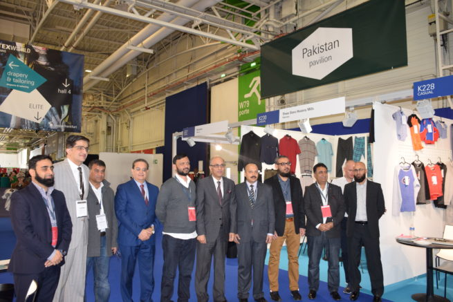 27 Pakistan companies attend Texworld 2018 in Paris