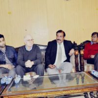 Mr.Steven, Butler, the, Asia ,program, coordinator, committee ,to ,protect, journalists ,visited ,National ,Press ,Club, Islamabad