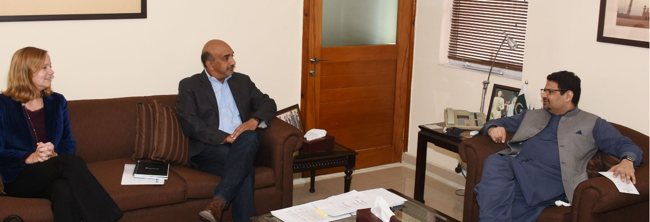 Adviser to Prime Minister on Finance, Miftah Ismail had a meeting with Patchamuthu Illangovan, World Bank Country Director