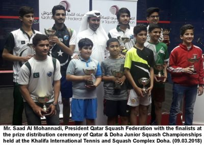 Pakistan,junior,squash,players,carry,on,the,winning,streak,in,doha,junior,squash,championship