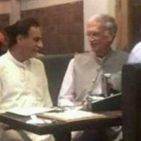 Picture of Ayaz Saqid with KPK CM sparks social media debate
