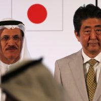 Japan's Abe in the UAE to boost ties, with 27 companies in tow