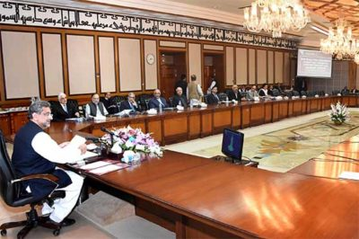 PM Abbasi to preside over ECC meeting today