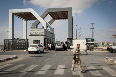Egypt opens Gaza border for month of Ramazan: president