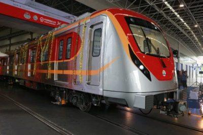 Lahore: Punjab CM inaugurates test run of Orange Line Train