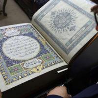 Rare silk Quran helps preserve Afghanistan's cultural heritage
