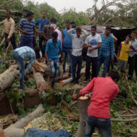 Wild storms kill at least 70 in India