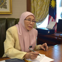 Malaysia's new deputy PM aims to be a role model for women