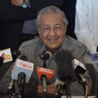 Malaysia's Mahathir expects to be sworn in within hours